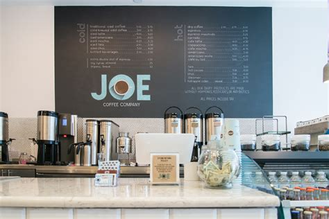 now for something completely different from joe coffee company