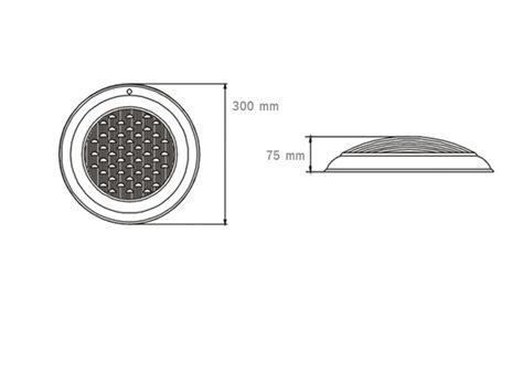 Lu Led Warna Warni lu kolam renang 24 watt dengan 24 biji rgb led