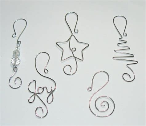 christmas tree ornament hooks wire ornament by