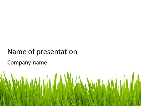 powerpoint themes grass green grass powerpoint template backgrounds id