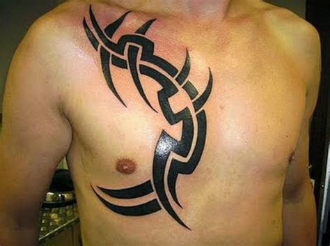simple chest tattoos 50 best and awesome chest tattoos for
