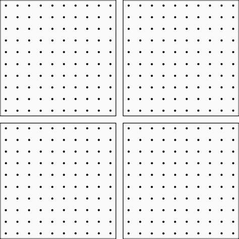 Dot Pattern Activities | 10 dot 4 up geoboard clipart etc