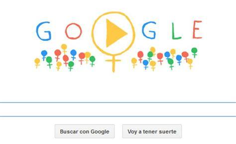 doodle que es doodle de d 237 a internacional de la mujer en todos