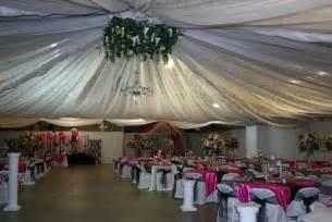 draping ideas diy ceiling draping at local fairgrounds weddingbee