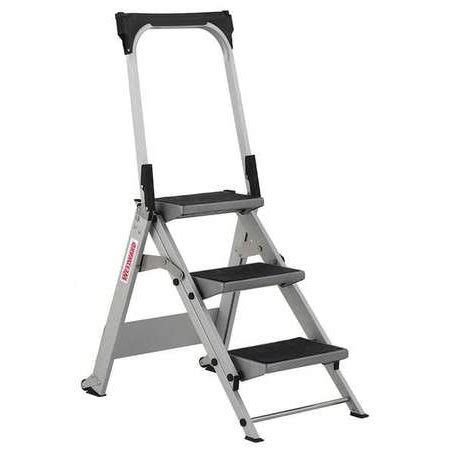 4 Ft Step Stool by Westward Step Stool Aluminum 2 1 4 Ft 44yy13 Walmart