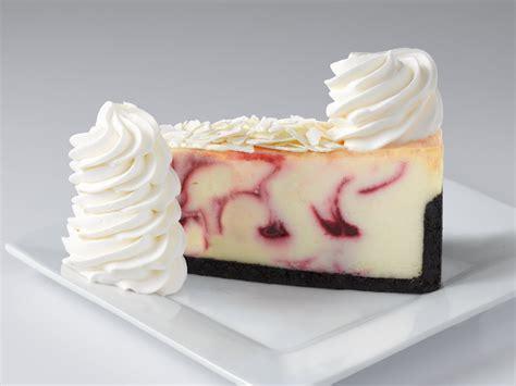 white chocolate raspberry truffle  cheesecake factory