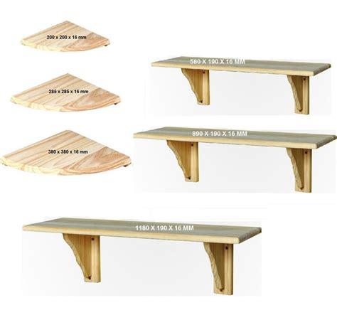 wooden shelves 2 3 4 wall mounted wooden shelves wood storage shelf corner shelves ebay