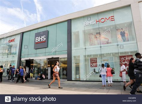 the recently renovated british home stores bhs department
