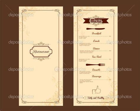 hotel menu template 9 hotel menu templates psd vector eps ai illustrator