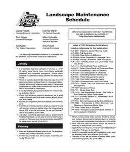 Maintenance Business Plan Template by Maintenance Schedule Template 20 Free Word Excel Pdf
