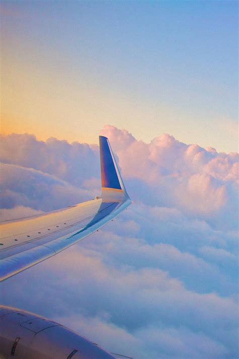 tmobile inflight mobile hd wallpapers plane clouds wing view mobile hd