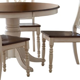 kmart furniture kitchen table oxford creek 5pcs antique white round dining table set
