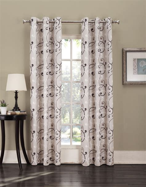 sears thermal curtains summit foamback grommet panel stylish energy efficiency