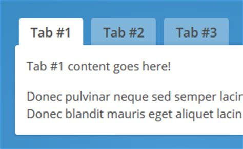 tab layout html css creating tabs with html css jquery inspirational pixels