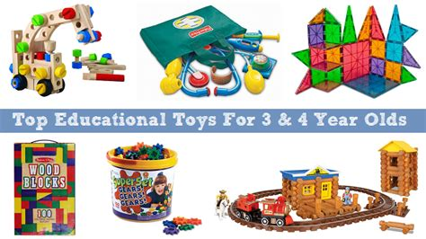 7 Great Toys For 3 Year Olds by Top Educational Toys For 3 And 4 Year Olds To Learn And Grow