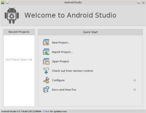 android studio ubuntu instalar android studio en ubuntu 14 04 lts y el todo en nuestra vida es un proyecto siempre