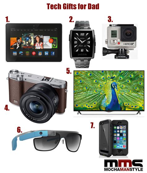 best tech gifts for dad awesome father s day gifts for dad mocha man style