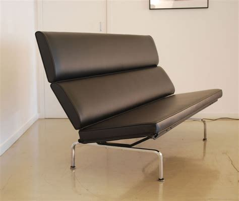 small dorm couch classic design before after eames compact sofa