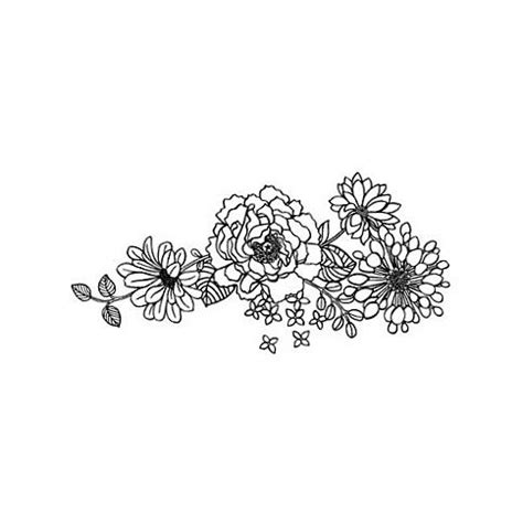 black and white flower tattoo designs 14 black and white floral designs images black and white
