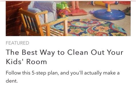 How To Clean Your Room In A Way by The Best Way To Clean Out Your Kid S Room Trusper