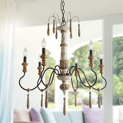 lnc rustic chandelier  light handmade french country