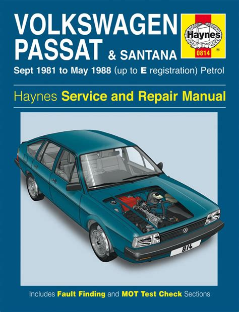 service manual vehicle repair manual 1988 volkswagen golf haynes manual vw passat santana petrol sept 1981 may 1988