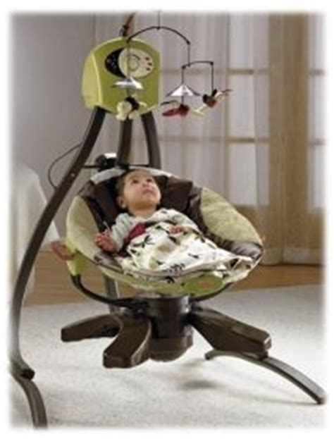 how long does a baby use a swing baby swing and baby bouncer in one not the right colors