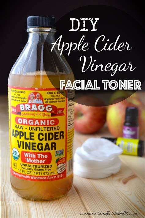 apple vinegar toner diy apple cider vinegar facial toner coconuts kettlebells