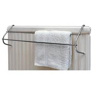 Radiator Towel Rack Caraselle Radiator Towel Rail In Chrome Finish For