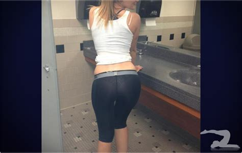 bathroom pants bathroom shot girls in yoga pants