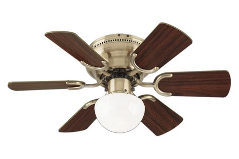 single speed ceiling fan westinghouse 78603 petite 6 blade 30 inch 3 speed hugger