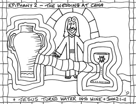 coloring pages jesus turns water to wine bible scenes slideshow by tharens coloring pages jesus
