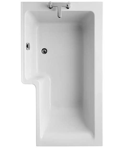 ideal standard concept shower bath concept idealform square 1500mm left handed shower bath