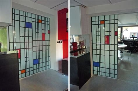 Home Doors Interior Mondrian Sliding Panels L Studio Architecture And