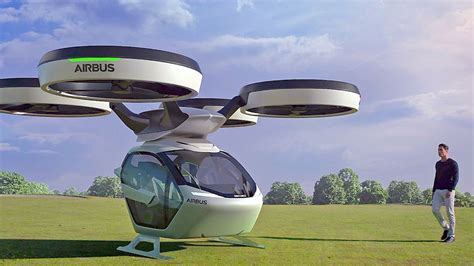 Flying Car Airbus by Flying Car By Airbus Italdesign