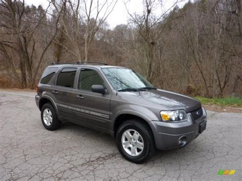 ford escape grey shadow grey metallic 2006 ford escape limited 4wd