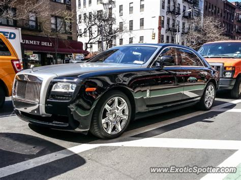 rolls royce ghost spotted in new york city new york on 04
