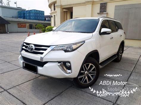 2016 Toyota Fortuner 2 4 Vrz Wagon jual mobil toyota fortuner 2016 vrz 2 4 di dki jakarta