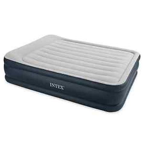 up bed intex air bed pillow raised electric