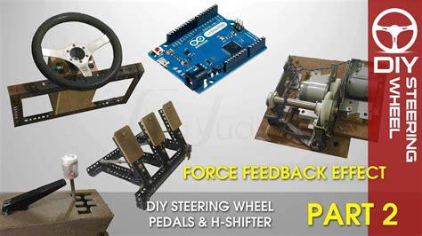 Harga Diy Steering Wheel Arduino by Diy Steering Wheel With Feedback Arduino Part 2