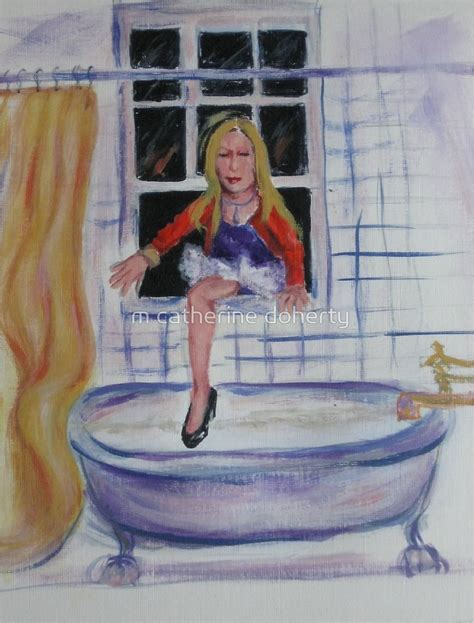 she came into the bathroom window quot she came in through the bathroom window 2 quot by m catherine doherty redbubble