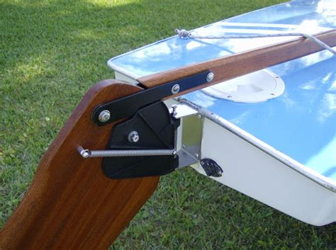 small boat rudder small boat restoration sunfish rudder conversion autos post