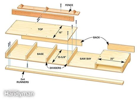 build  miter  table projects miter