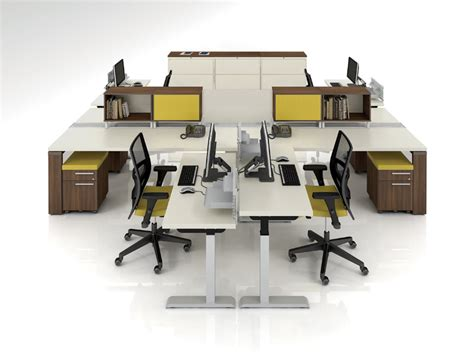 Bfi Office Desks Calgary Business Open Plan Office Furniture