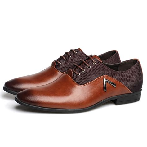 comfortable business casual shoes for men original us size 6 5 10 5 men business shoes leather