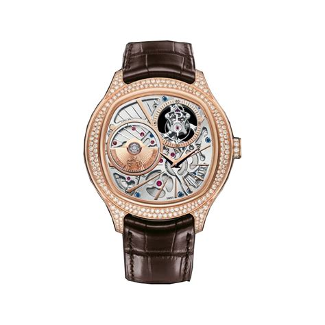 piaget emperador skeleton 18k gold automatic