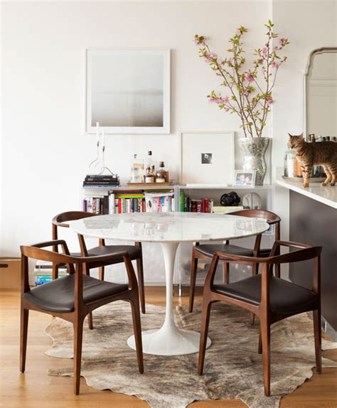 copy cat chic room redo i mid century modern dining room