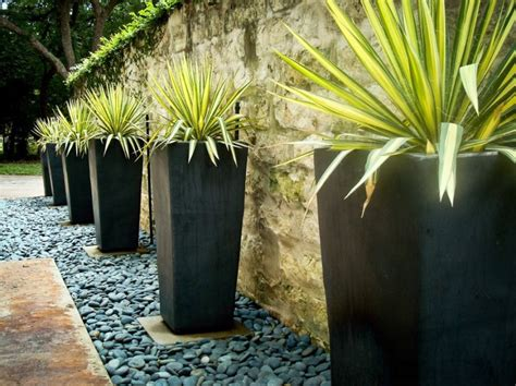 modern outdoor planter your backyard landscaping strategy manicured or untamed