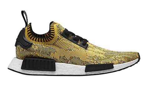 Sepatu Adidas Nmd R1 Prime Knit Yellow Pack Premium Original adidas nmd r1 primeknit yellow