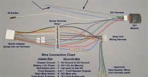 pioneer car stereo wiring harness diagram mechanic s corner pioneer car stereo